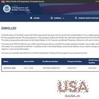 去过朝鲜、伊拉克、叙利亚、伊朗、苏丹、利比亚、索马里或也门也可登记EVUS